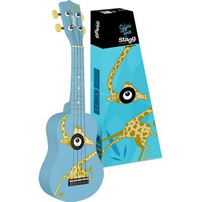 Stagg Giraffe Graphic Soprano Ukulele