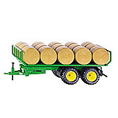 Farming - Trailer With Round Bales - 1:32 Scale - Siku