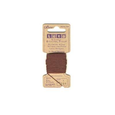 Clover Dark Brown Luxurious Embroidery Threads