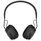 Marley Rebel Bluetooth Headphones, Black