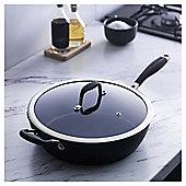 Go Cook Forged Aluminium Saute Pan 28cm