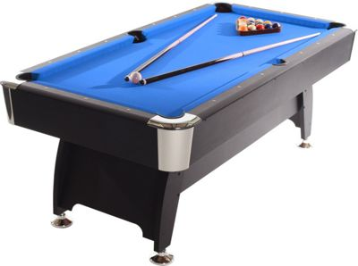 Strikeworth Pro American Deluxe 6ft Pool Table With Blue Cloth