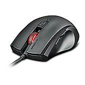 SPEEDLINK ASSERO USB Optical 3200DPI Ambidextrous Black mice
