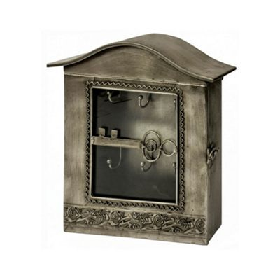 Glass Fronted Metal Key Box
