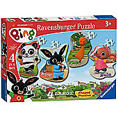 Bing Bunny 4 Shaped Puzzles
