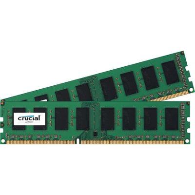 Crucial RAM Module - 8 GB (2 x 4 GB) - DDR3 SDRAM