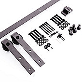 Homcom Steel Sliding Barn Kit Hardware System
