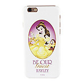 Beauty and the Beast Personalised White Belle iPhone 6 Cover