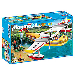 Playmobil 5560 Wildlife Adventure Tree House Firefighting Seaplane