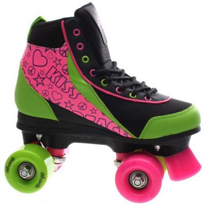 Luscious Retro Quad Roller Skates - Delish - UK 5
