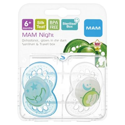 MAM Soothers Night Soother 6+ Months