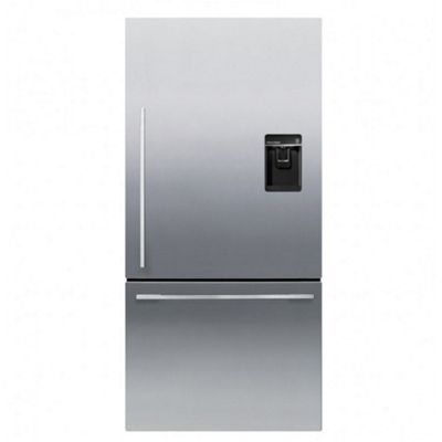 Fisher Paykel RF522WDRUX4 79cm Designer Fridge Freezer Right Hinge with Freezer Drawer, Ice & Water