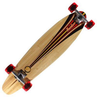 Mindless Longboards ML2032 Raider III Complete Longboard - Black/Red/Gold