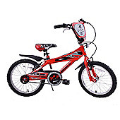 "Ammaco MX18 Boys Red 18"" Wheel Bike"