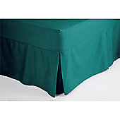 Belledorm 200 Thread Count Polycotton Fitted Sheet Valance - Petrol