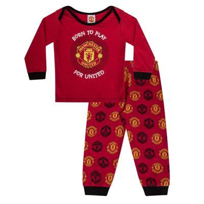 Manchester United FC Boys Baby Pyjamas 9-12 Months