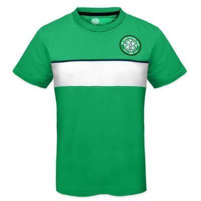 Celtic FC Boys Poly T-Shirt Green 10-11 Years LB