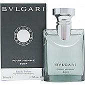Bvlgari Pour Homme Soir Eau de Toilette (EDT) 50ml Spray For Men