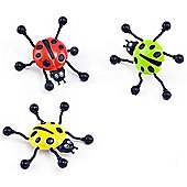 Party Bag Ladybird Wall Crawlers (Pack of 6)
