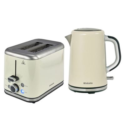 buy brabantia bqpk07 almond breakfast kettle and 2 slice. Black Bedroom Furniture Sets. Home Design Ideas