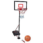 Dunlop Frestanding Portable Basketball Net Hoop Backboard inc Dunlop Ball Pump