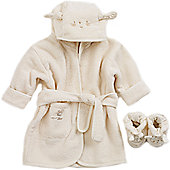 Natures Purest Pure Love Bathrobe & Slippers