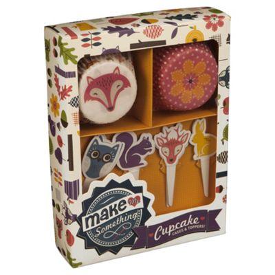 Make Me Something Cupcake Case & Decoration Set