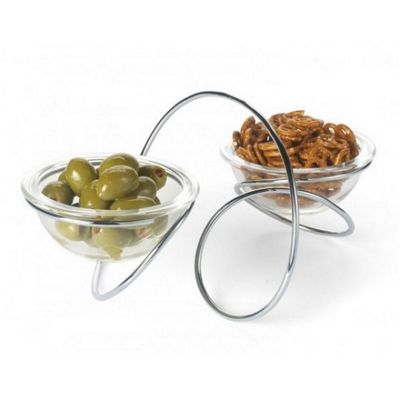 Black + Blum Double Loop Serving Bowl