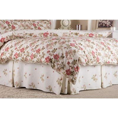 Belledorm Wild Rose Country Dream Fitted Valance Sheet - Double