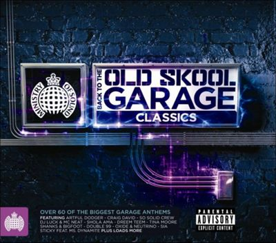 Ministry Of Sound: Back To The Old Skool Garage Classics (3CD)