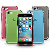 Apple iPhone 7 Thin Back TPU Gel Cases - MULTIPACK of 5 assorted covers