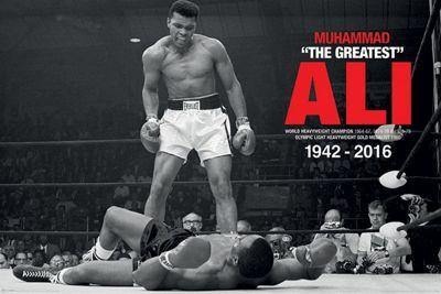 Muhammad Ali Commemorative Ali V Liston Poster 61x91.5cm