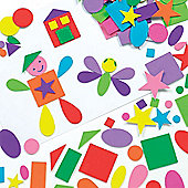 Self-Adhesive Crafts Foam Shapes (Pack of 180)