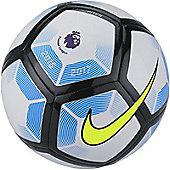 Nike Premier League Pitch Football - White/Black - White