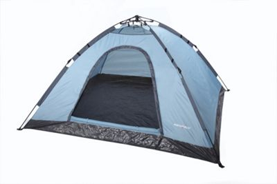 North Gear C&ing 4 Man Instant Pop Up Tent Festival Rapid Tent  sc 1 st  Tesco : tescos tents - memphite.com