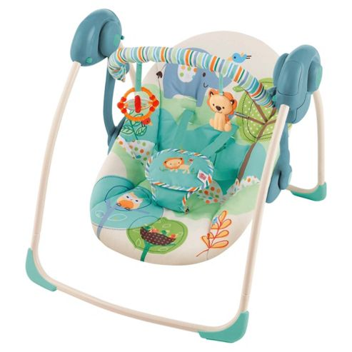 Bright Starts Playful Pals Baby Swing