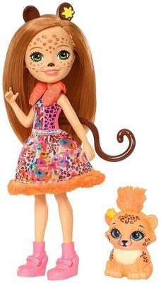 Enchantimals Cherish Cheetah Doll