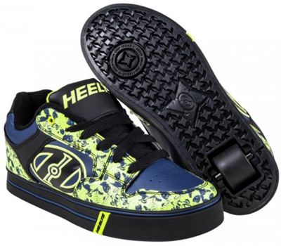 Heelys Motion Plus - Black/Navy/Lime/Graphics - Size - UK 1
