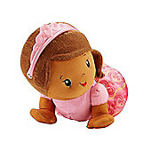 Fisher-Price Touch N Crawl Princess Doll (Brown)