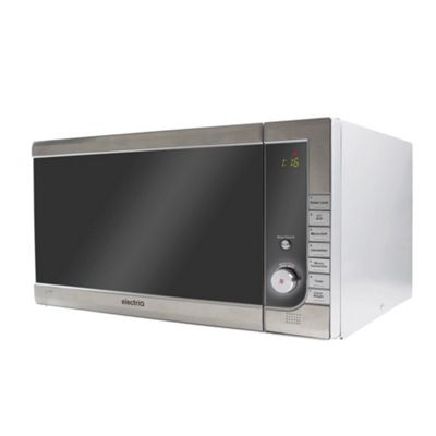 electriQ 40 Litre Touch Control Freestanding 1000w Combination and Grill Digital Microwave Oven - Black
