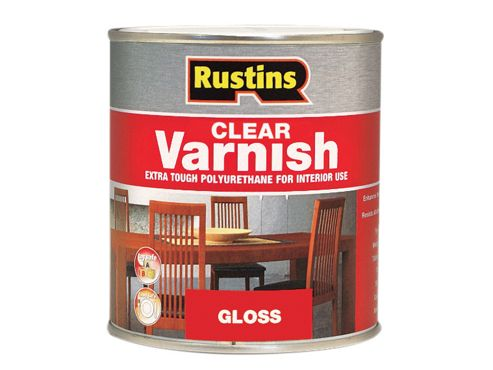 Rustins Polyurethane Varnish Gloss Clear 2.5 Litre
