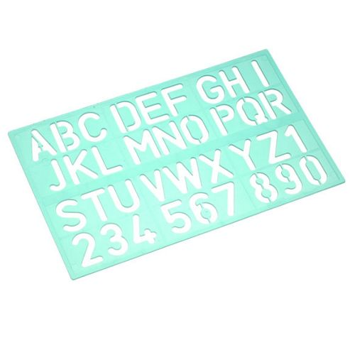 Linex Standard Lettering Stencil - 30mm
