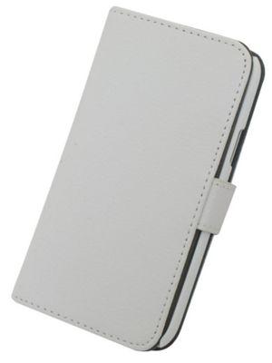 Tortoise™ Genuine Leather Folio Case Samsung Galaxy S4 Mini White