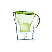 BRITA Fill & Enjoy Marella Water Filter Jug With Free Maxtra + Cartridge, 2.4 Litre (Lime)
