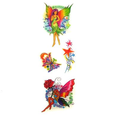 Fairy Glitter Temporary Tattoos