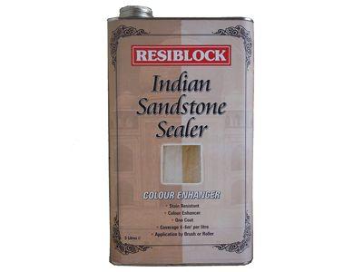 Everbuild Resiblock Indian Sandstone Sealer Colour Enhancer 5 Litre