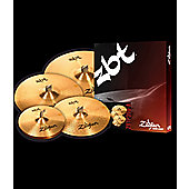 "Zildjian ZBT Boxset Includes 14"" Hi Hats, 16"" Crash, 20"" Ride, 18"" Crash ZBTF390-A"