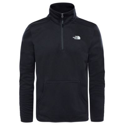 The North Face Mens Tanken 1/4 Zip Fleece TNF Black L