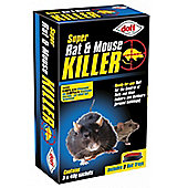 Doff Ready to use Rat And Mouse Killer - 3x40g Sachets
