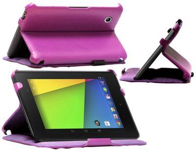 Navitech Google Nexus 7 2nd Gen. heat sync/Pioneer case - Purple